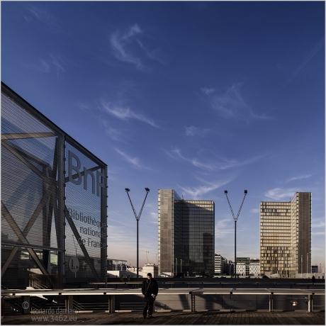 BNF- Architecte Perrault - Paris Bercy