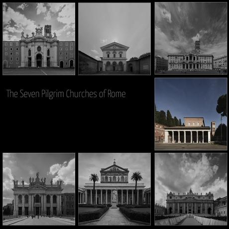 seven pilgrim churches of rome